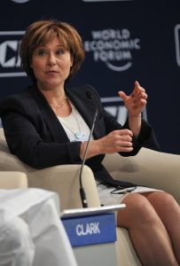 MUMBAI/INDIA, 14NOV11 - Christy Clark, Premier of British Columbia, Canada at the The New Role of the States: Catalysts for Growth (Plenary Session) during the India Economic Summit 2011 in Mumbai, India, 12-14 November, 2011. Copyright World Economic Forum (http://www.weforum.org) / Eric Miller (emiller@iafrica.com)
